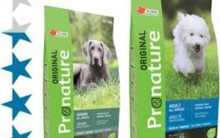 Корм pronature для собак отзывы